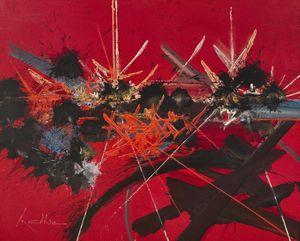Souvenir oublié by Georges Mathieu contemporary artwork