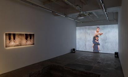 Exhibition view: Aziz Hazara, Bani Abidi, and Prabhakar Pachpute, Gardens as Thought Form: Lexicons for Revolution, Experimenter, Hindustan Road (27 August–31 October 2021). Courtesy Experimenter.