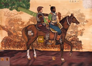 The last seconds of Shaddhad (from Sulaiman Ustad's version 1998) by Abul Hisham contemporary artwork