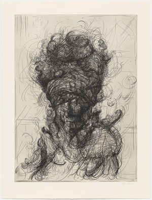Half-Life (after Rembrandt) by Glenn Brown contemporary artwork