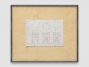 NLF / CH01 by Martin Boyce contemporary artwork