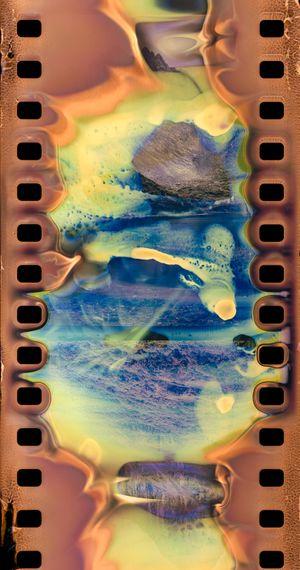 Erosion - Abujicuo No.2 by Hu Weiyi contemporary artwork print