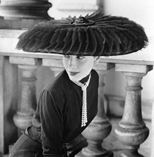 Le Groux Soeurs Hat, Vogue by Norman Parkinson contemporary artwork