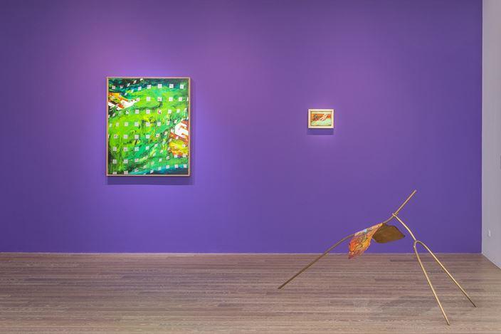 Exhibition view: Chou Tai-Chun,Terrains, Maps, and Time Travel–CHOU Tai-Chun's solo exhibition,Liang Gallery, Taipei (7 November–13 December 2020). Courtesy Liang Gallery.