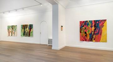 Contemporary art exhibition, Etel Adnan, Life is a weaving at Galerie Lelong & Co. Paris, 13 Rue de Téhéran, Paris, France
