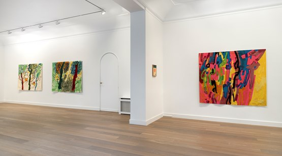 25 Jan–10 Mar 2018 Etel Adnan contemporary art exhibition
