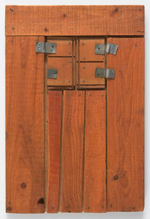 Wood Picture by Mildred Thompson contemporary artwork