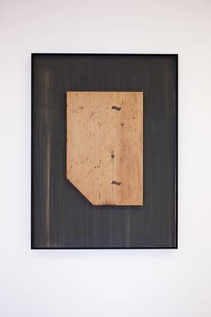 A Sung Hummingbird by Martin Boyce contemporary artwork