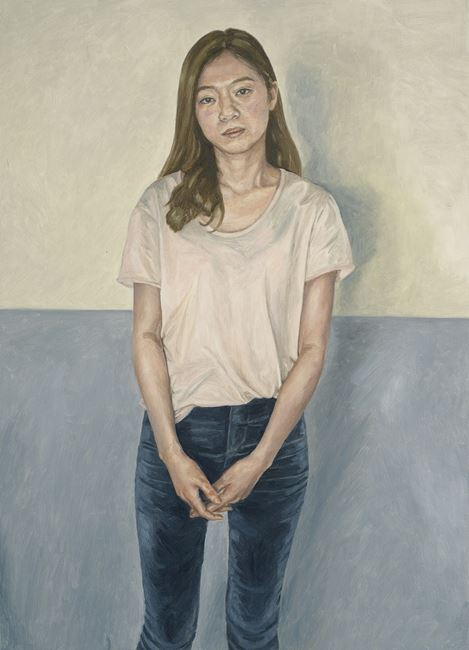 JE in Front of the Gray Wall by Dongwook Suh contemporary artwork
