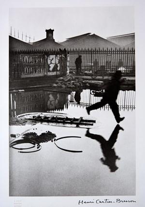 Behind The Gare Saint-Lazarre by Henri Cartier-Bresson contemporary artwork