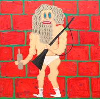 DMZ by Pow Martinez contemporary artwork painting