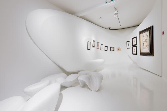 Exhibition view:Kurt Schwitters,Merz (12 June–30 September 2016).Galerie Gmurzynska, Zurich. CourtesyGalerie Gmurzynska.