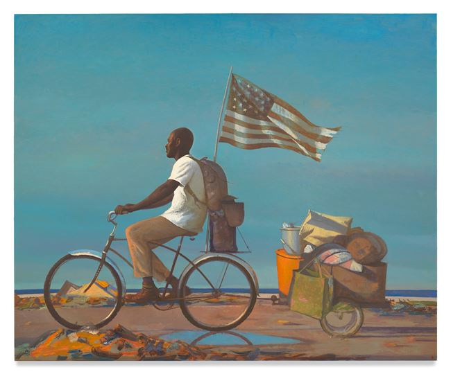 Freedom by Bo Bartlett contemporary artwork