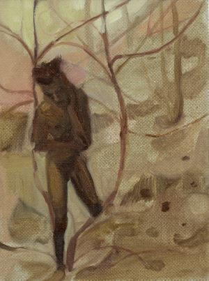 Walking to Avoid Bear Traps by Jake Grewal contemporary artwork