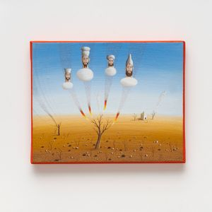 Chapéus e Barbas by Alex Červený contemporary artwork