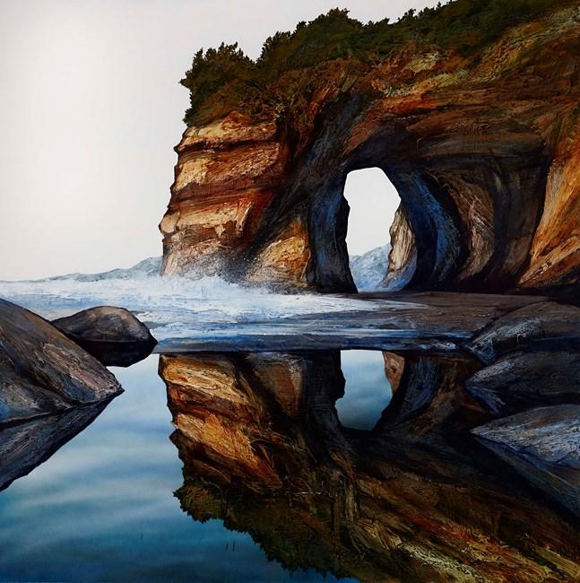 Vantage Point by Neil Frazer contemporary artwork