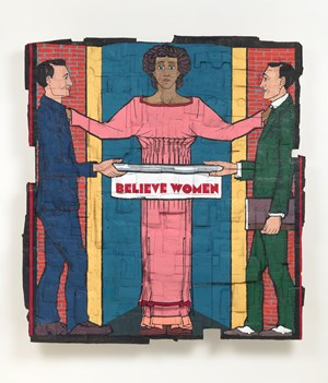 Believe Women by Andrea Bowers contemporary artwork