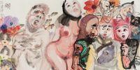 颂 by Li Jin contemporary artwork painting, works on paper, drawing