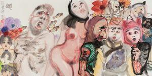 颂 by Li Jin contemporary artwork
