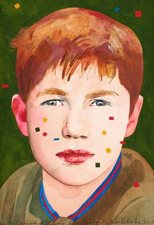 Late Period – Study for 'Party' 7 by Peter Blake contemporary artwork