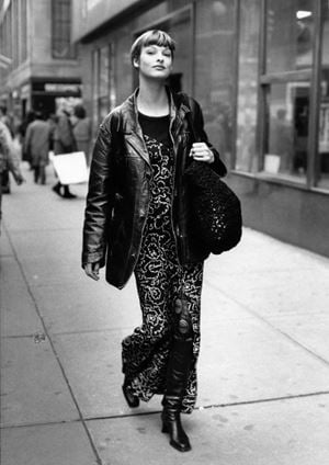 Linda Evangelista by Bill Cunningham contemporary artwork