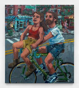 Bike for two by Todd Bienvenu contemporary artwork