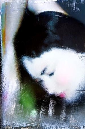 Opera Unica La Geisha by Andrea Pacanowski contemporary artwork