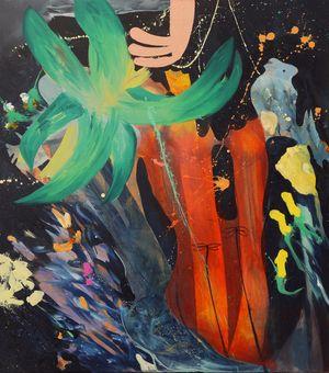 Die Fundgrube (Treasure Trove) by David Lehmann contemporary artwork painting