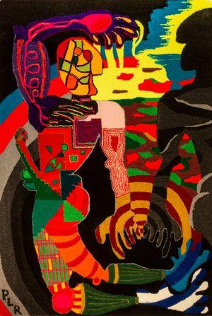 The Triad: The Mirror by Pierre Le Riche contemporary artwork