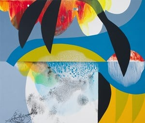 Shave Ice by Carrie Moyer contemporary artwork