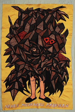 Nenek Moyangku Pabrikan by Eko Nugroho contemporary artwork