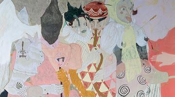 Contemporary art exhibition, Ella Walker, Cosmati Floor and Wax Fruit at Huxley-Parlour, London