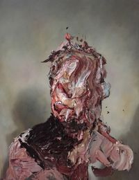 Raw Intent No. 6 by Antony Micallef contemporary artwork painting