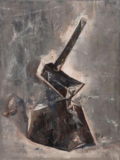 Stone and Axe by Zhu Xiangmin contemporary artwork