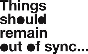 Things should remain out of sync… by Liam Gillick contemporary artwork
