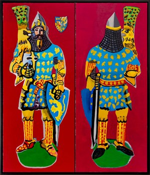 Knight 2 by Malcolm Morley contemporary artwork