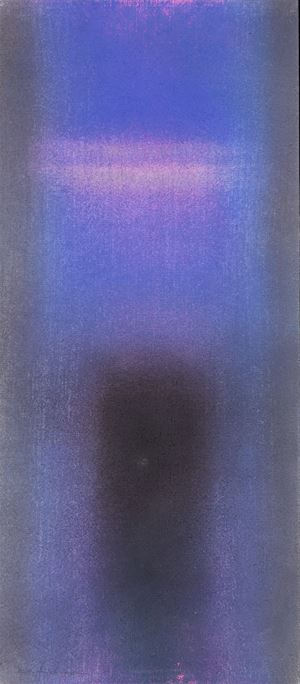 IN BLUE GRAY Aug '15 by Katsuyoshi Inokuma contemporary artwork works on paper, drawing