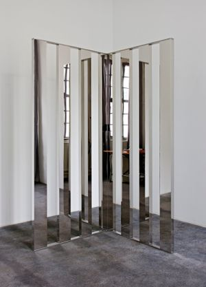 Mirror Angle Fragments by Jeppe Hein contemporary artwork