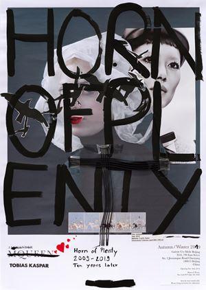 Horn of Plenty (Raven) by Tobias Kaspar contemporary artwork