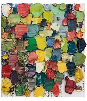 Butterflies, Diamond Sutra No. 2 by Zhu Jinshi contemporary artwork