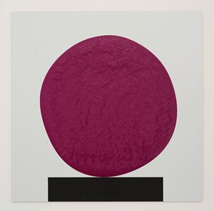 Colour Chart 46 (purple) 02.02.12 by David Batchelor contemporary artwork