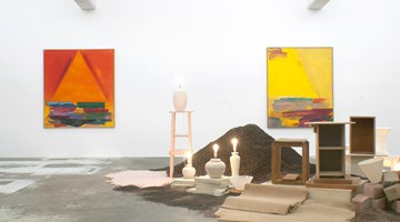 Contemporary art exhibition, Gretchen Albrecht and Eve Armstrong, Making Arrangements at Michael Lett, Auckland, New Zealand