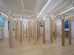 "Inga Svala Thórsdóttir & Wu Shanzhuan<br><em>Quote! Quote! Quote!</em><br><span class=""oc-gallery"">Hanart TZ Gallery</span>"