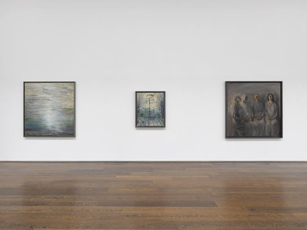 Exhibition view: Celia Paul, Victoria Miro, Mayfair, London (13 November–20 December 2019). Courtesy the artist and Victoria Miro. Photo: Jack Hems.