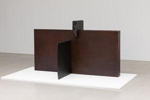 Bronze-Object-Age 97-9-Unification by Tai-Jung Um contemporary artwork