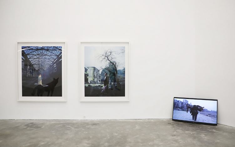 Exhibition view: Group Exhibition, Exhibition for the Tenth Anniversary, A Thousand Plateaus Art Space, Chengdu (27 October–31 December 2017). Courtesy A Thousand Plateaus Art Space.