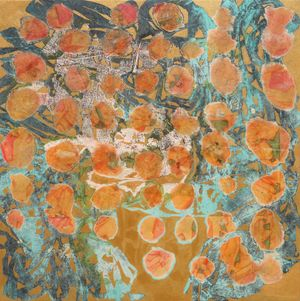 Watson pomelo by Sojung Lee contemporary artwork painting, works on paper, drawing