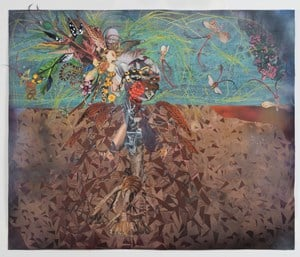 Tropicália by Wangechi Mutu contemporary artwork