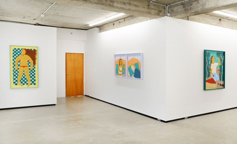 Exhibition view: Claudia Kogachi, It is What It Is, Jhana Millers, Wellington (26 March–10 April 2021). Courtesy Jhana Millers.