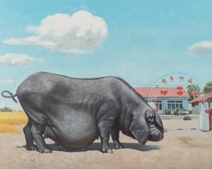 Harvest Season by Wang Xingwei contemporary artwork